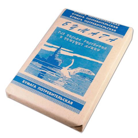 Бумага для пишущих машин Кондопога А4, 48,8 г/м, 500 л.  Код: 110047