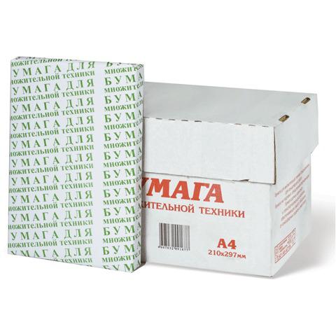 Бумага офисная А4, ТУРИНСК, 80 г/м, 200 л., белизна 92%  Код: 110189