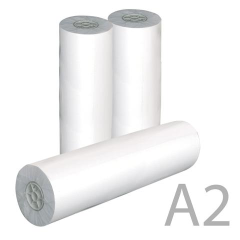 Рулон для плоттера 420мм*175м*вт.76мм, 80г/м2, белизна CIE 162%, диам.170мм, STARLESS  Код: 110272