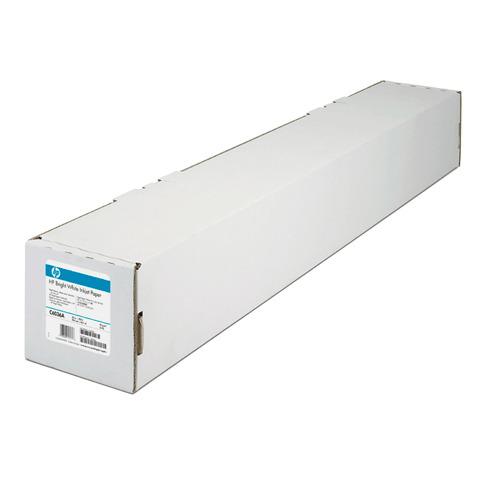Рулон для плоттера 914мм*45м*вт.50,8мм, 90г/м2, белизна CIE 168%, Bright White InkJet HP C6036A  Код: 110305