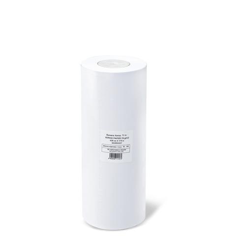 Рулон для плоттера 420мм*175м*вт.76мм, 75г/м2, белизна CIE 164%, XES Paper XEROX 003R93237  Код: 110312