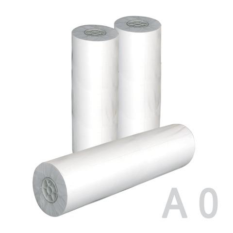 Рулон для плоттера 914мм*50м*вт.50,8мм, 80г/м2, белизна CIE 162%, диам.100мм, STARLESS  Код: 110328