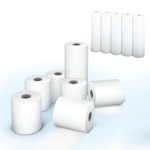 Рулоны для кассовых аппаратов, офсет, белизна 96%, 57х54х12, КОМПЛЕКТ 15шт., AKZENT 44678  Код: 110364