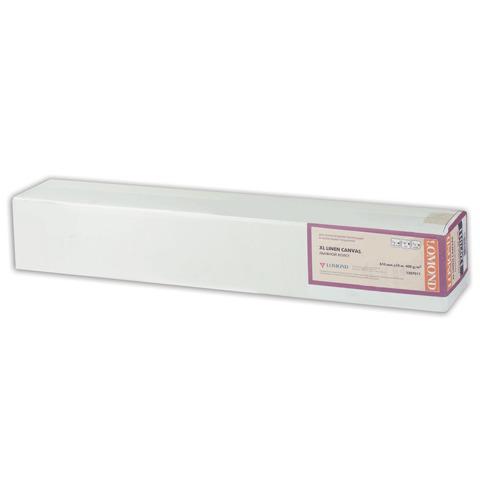 Рулон для плоттера (арт.бумага) 610мм*10м*вт.50,8мм, 300г/м2, фактура льняной ткани, LOMOND 1207011  Код: 110384