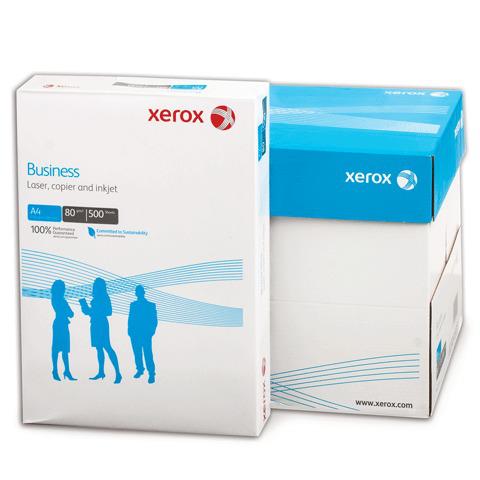 """Бумага офисная А4, класс """"B"""", XEROX BUSINESS, 80 г/м, 500 л., Финляндия, белизна 164% (CIE)  Код: 110436"""