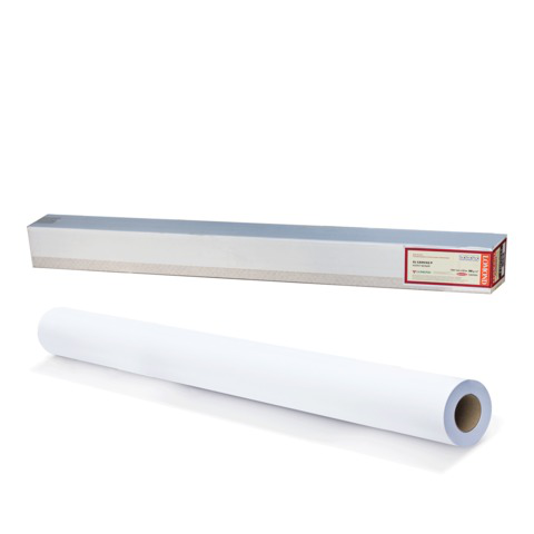 Рулон для плоттера (холст) 1067мм*10м*вт.50,8мм, 300г/м2, фактура льняной ткани, LOMOND 1207013  Код: 110466