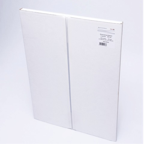 Бумага широкоформатная XEROX XES А1 инженерная, 594х841мм, 250л., 80г/м2, белизна CIE 168% 453L90859  Код: 110521