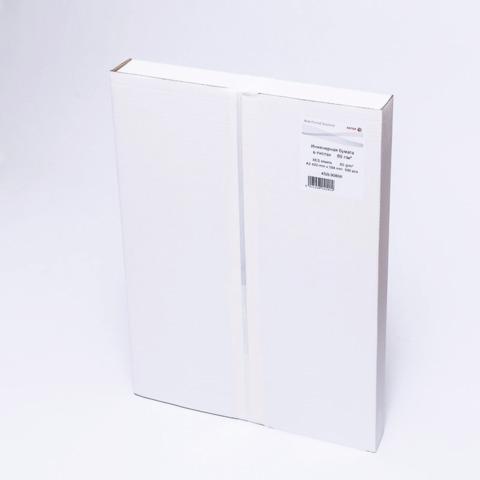 Бумага широкоформатная XEROX XES А2 инженерная, 420х594мм, 500л., 80г/м2, белизна CIE 168% 453L90868  Код: 110522