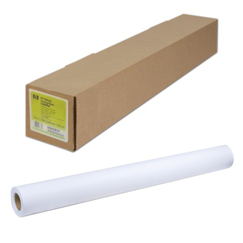 Рулон для плоттера (фотобумага) 610мм*30м*вт.50,8мм, 235г/м2, глянцевое быстросох. покрытие HP Q8916A  Код: 110574