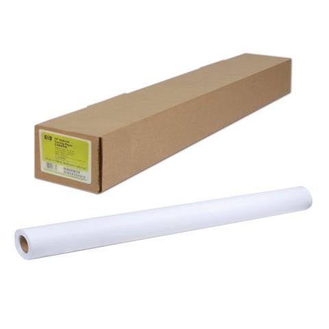 Рулон для плоттера 1067мм*68м*вт.50,8мм, 130г/м2, белизна CIE 144%, Heavyweight Coated HP Q1956A  Код: 110585