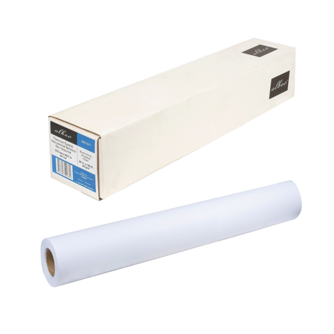 Рулон для плоттера (холст) 610мм*30м*вт.50,8мм, 230г/м2, синтетический матовый, ALBEO SC230-24  Код: 110609