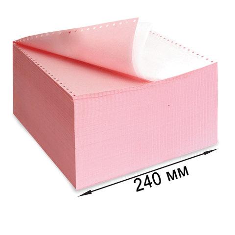 """Бумага самокопирующая с перфорацией цветная, 240х305мм (12""""), 2-х сл, 900 компл., DRESCHER 110694  Код: 110694"""