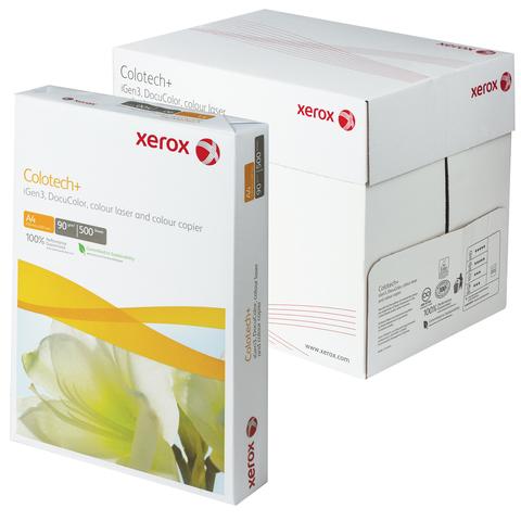 Бумага XEROX COLOTECH PLUS А4, 90г/м, 500л., д/полноцветов лазерной печати, А++, Австрия, 170%(CIE)  Код: 110855