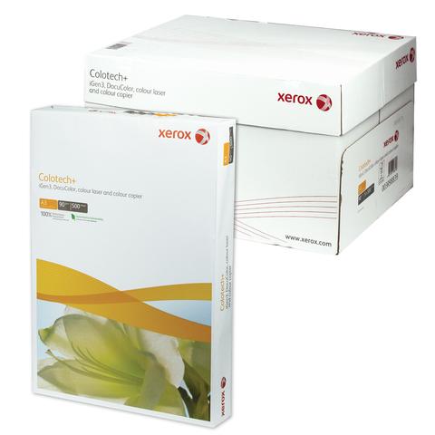 Бумага XEROX COLOTECH PLUS А3, 90г/м, 500л., д/полноцветов лазерной печати, А++, Австрия, 170%(CIE)  Код: 110856