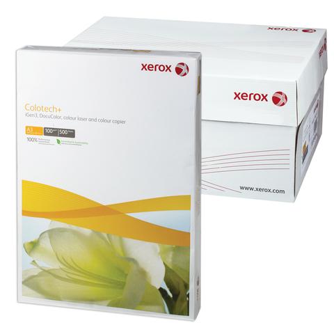 Бумага XEROX COLOTECH PLUS А3, 100г/м, 500л., д/полноцветов лазерной печати, А++, Австрия, 170%(CIE)  Код: 110858