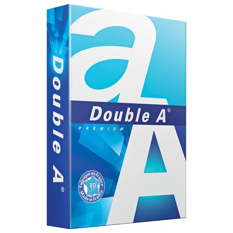 Бумага офисная А4, класс А+, DOUBLE A, ЭВКАЛИПТ, 80 г/м, 500л, Франция, бел. 175% (CIE)  Код: 110901