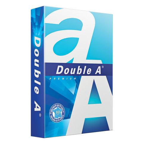 Бумага офисная А3, класс А+, DOUBLE A, ЭВКАЛИПТ, 80 г/м, 500л, Франция, бел. 175% (CIE)  Код: 110902