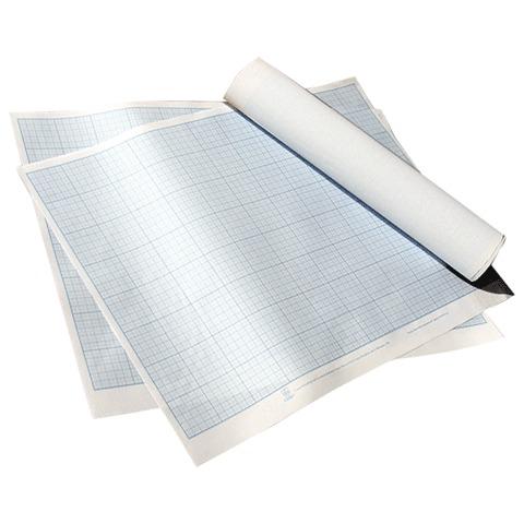 Бумага масштабно-координатная, формат 400*600мм., синяя, ПМБ, ш/к 74277  Код: 120288