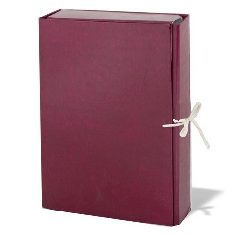 Папка для бумаг архивная  85 мм, бумвинил, 2 х/б завязки, до 700л., 120298  Код: 120298
