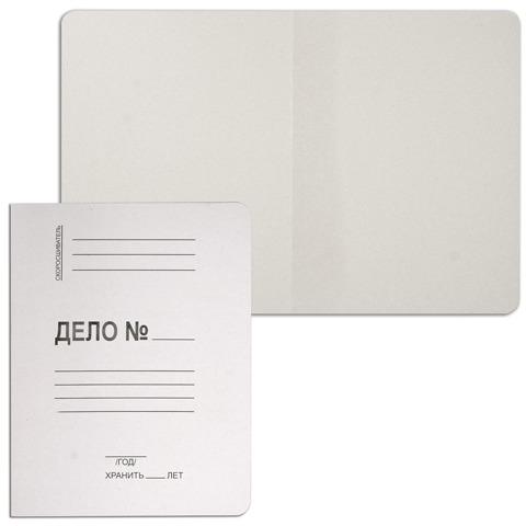 Папка Дело картонная (без скоросшивателя) BRAUBERG, гарантированная плотность 280г/м2,до 200л,122293  Код: 122293