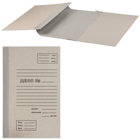 Папка архивная для переплета 100 мм, без клапанов, переплетный картон, корешок - бумвинил, ш/к 71759  Код: 126519