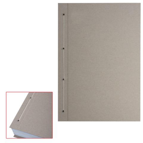 Крышки переплетные картонные для прошивки документов А4 305*220 мм, КОМПЛЕКТ 100шт, ш/к 71855  Код: 127134