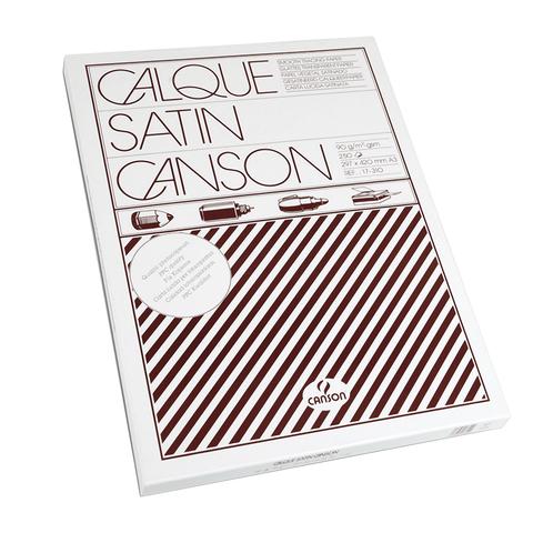 Калька CANSON Microfine А3, 90 г/м, пачка 250л, белая, (0017310), ш/к 73102  Код: 128444