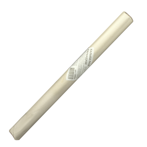 Калька под карандаш, рулон 420мм х20м, 25 - 30г/м2, STAFF, 128994  Код: 128994