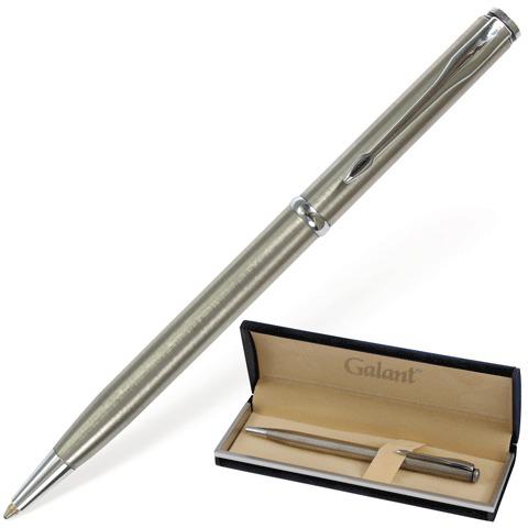 Ручка подарочная шариковая Galant (Галант) Arrow Chrome, корпус серебристый, хром.детали, 0,7мм, синяя, 140408  Код: 140408