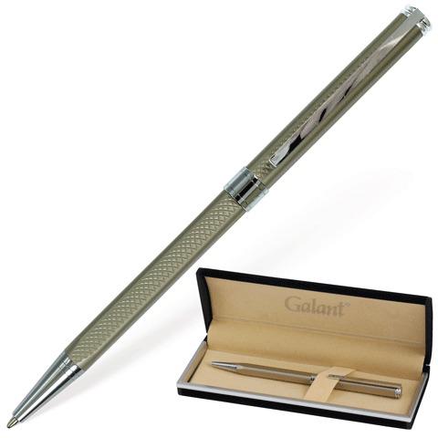 Ручка подарочная шариковая Galant (Галант) Stiletto Chrome, корпус серебристый, хром.детали, 0,7мм, синяя,140528  Код: 140528