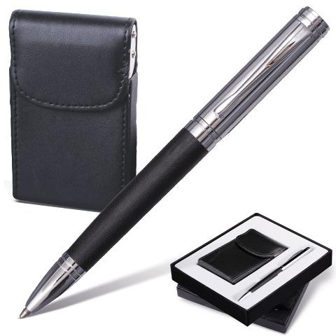 """Набор Galant (Галант) """"Prestige Collection"""": ручка, визитница, черный, подар.кор., 141371  Код: 141371"""