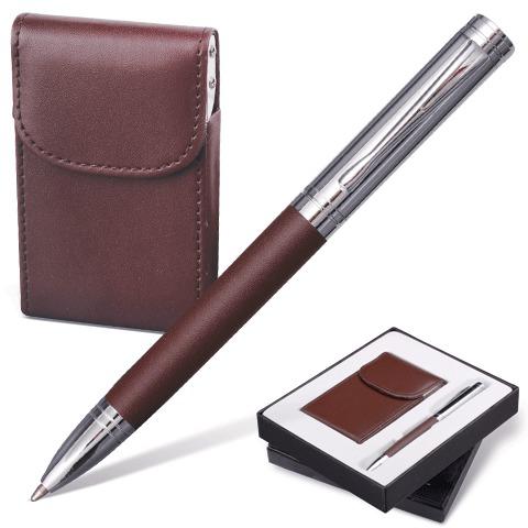 "Набор Galant (Галант) ""Prestige Collection"": ручка, визитница, т. коричневый, подар.кор., 141372  Код: 141372"