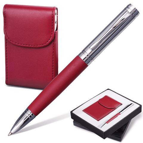 "Набор Galant (Галант) ""Prestige Collection"": ручка, визитница, бордовый, подар.кор., 141373  Код: 141373"