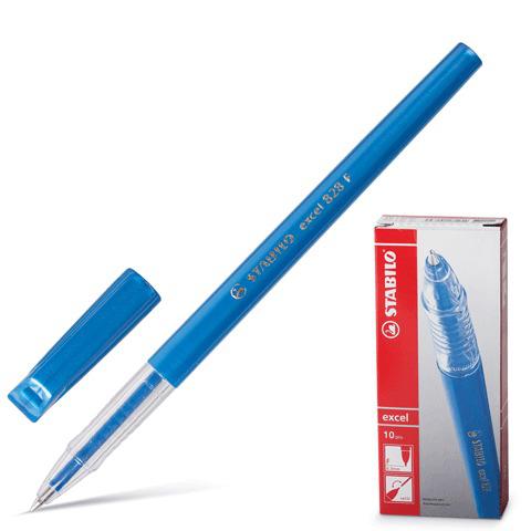 Ручка шариковая STABILO Excel, корпус синий, узел 0,7мм, линия 0,38мм, синяя, 828/41F  Код: 141569