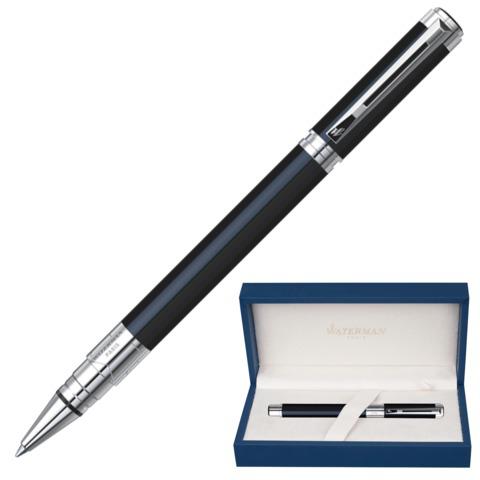 Ручка-роллер подарочная WATERMAN Perspective Black CT, черн.лак, никеле-паллад.покр., черн, S0830720  Код: 141962