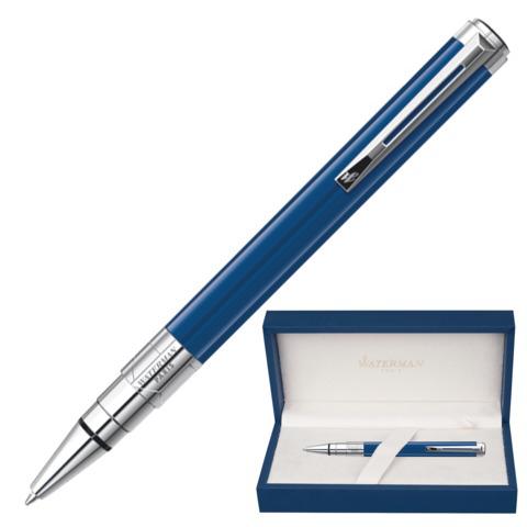 Ручка подарочная шариковая WATERMAN Perspective Obsession Blue CT, синий лак,паллад.покр,син,1904579  Код: 141977