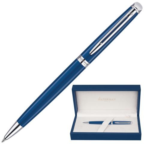 Ручка подарочная шариковая WATERMAN Hemisphere Obsession Blue CT, синий лак, хром. дет,синий, 1904603  Код: 141978