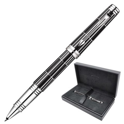 Ручка-роллер подарочная PARKER Premier Luxury Black CT, черн.корп,никеле-паллад.покр.дет,чер,1876392  Код: 142063