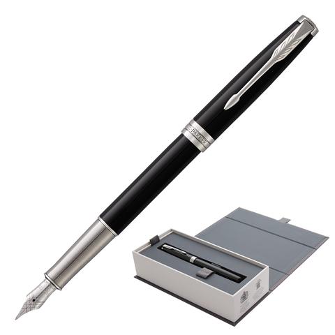 Ручка подарочная перьевая PARKER Sonnet Core Black Lacquer CT, черн.глянц.лак, паллад., чер, 1948312  Код: 142341