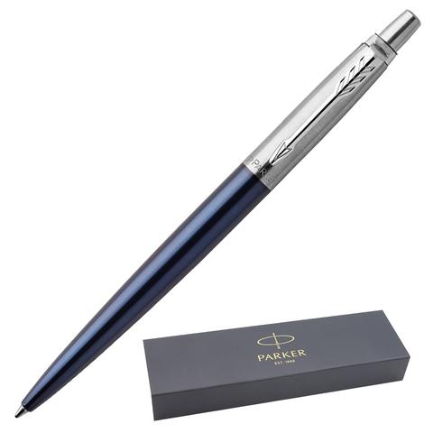 Ручка подарочная шариковая PARKER Jotter Core Royal Blue CT, синий корпус, хром.дет, синяя, 1953186  Код: 142380