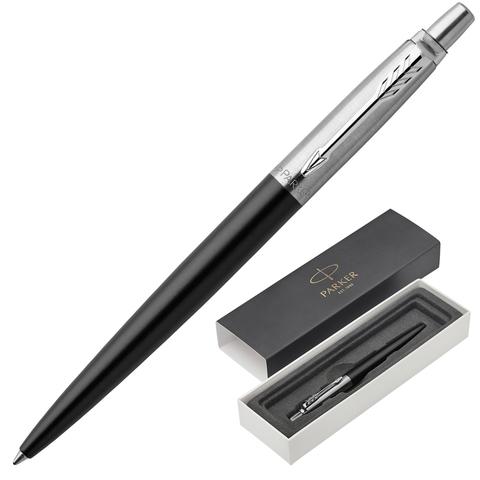 Ручка подарочная шариковая PARKER Jotter Core Bond Street Black CT, черн.корп, хром.дет,синий,1953184  Код: 142381