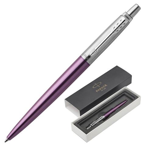 Ручка подарочная шариковая PARKER Jotter Core Victoria Violet CT, фиолет.корп, хром.дет,синий,1953190  Код: 142385