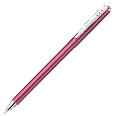 Ручка подарочная шариковая PIERRE CARDIN Actuel, корпус красный, алюминий, хром, синяя, PC0704BP  Код: 142433