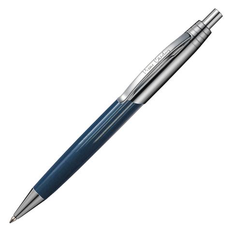 Ручка подарочная шариковая PIERRE CARDIN Easy, корпус серо-голубой, латунь, хром, синяя, PC5906BP  Код: 142443