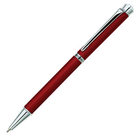 Ручка подарочная шариковая PIERRE CARDIN Crystal, корпус красный, латунь, хром, синяя, PC0709BP  Код: 142461