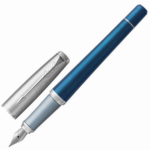 Ручка подарочная перьевая PARKER Urban Premium Dark Blue CT, темно-син., хром.детали, синяя, 1931563  Код: 142561