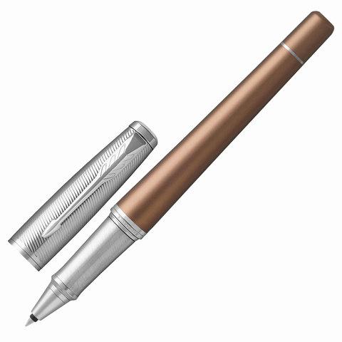 Ручка-роллер подарочная PARKER Urban Premium Orange CT, светло-коричн., хром.детали, черная, 1931626  Код: 142565