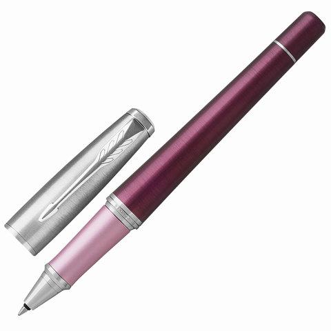 Ручка-роллер подарочная PARKER Urban Premium Dark Purple CT, темно-пурпурн., хром.дет, черн, 1931570  Код: 142568