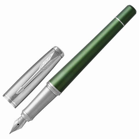 Ручка подарочная перьевая PARKER Urban Premium Green CT, зеленый корп, хромир.детали, синяя, 1931617  Код: 142570