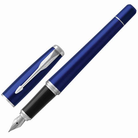 Ручка подарочная перьевая PARKER Urban Core Nightsky Blue CT, темно-син. лак, хром.дет,синий, 1931598  Код: 142579